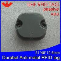 Etiqueta antimetálica da frequência ultraelevada rfid 915mhz 868mhz impinj monza4qt epcc1g2 6c 51*48*12.5mm palete abs durável cartão inteligente rfid tags|passive rfid tag|rfid tag|passive rfid -