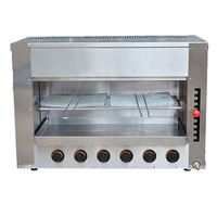 Jamielin Commercial Grill Commercial Heating Furnace Cooking Appliance Food Oven Chicken Roaster Salamander Grill