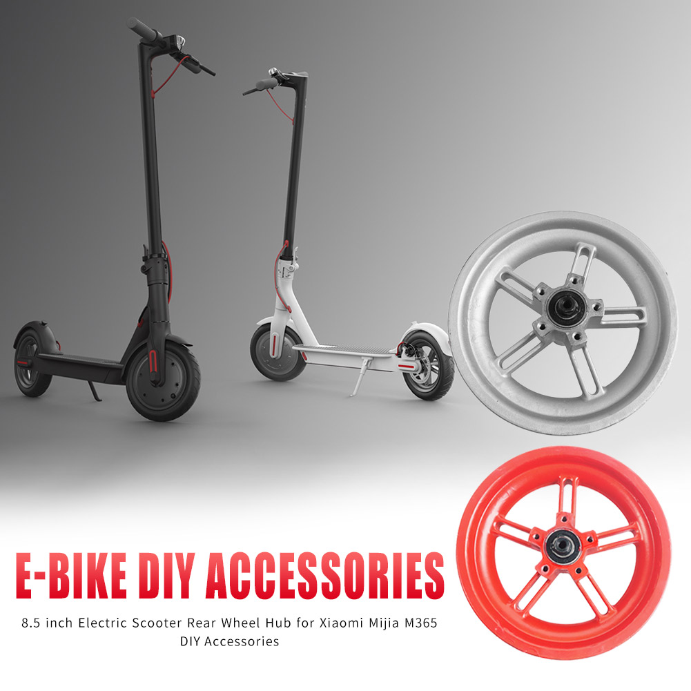 8.5 Inch Electric Scooter Hub Rear Iron Durable Wheel Tire E-bike Scooter DIY Tyre Hub For Xiaomi Mijia M365 Accessories