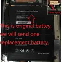 Battery for CHUWI AeroBook 13.3 Inch Tablet PC New Li-Po Rechargeable Replacement G139 HW-34154184 7.6V 5500mAh 7 Lines+Plug