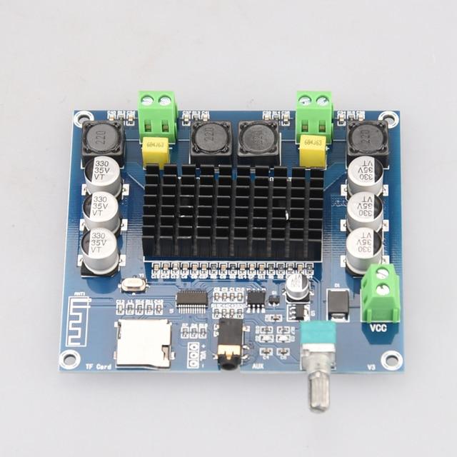 Цифровой усилитель HIFIDIY LIVE XH-A105 Bluetooth 5,0 TDA7498  2x100 Вт 4