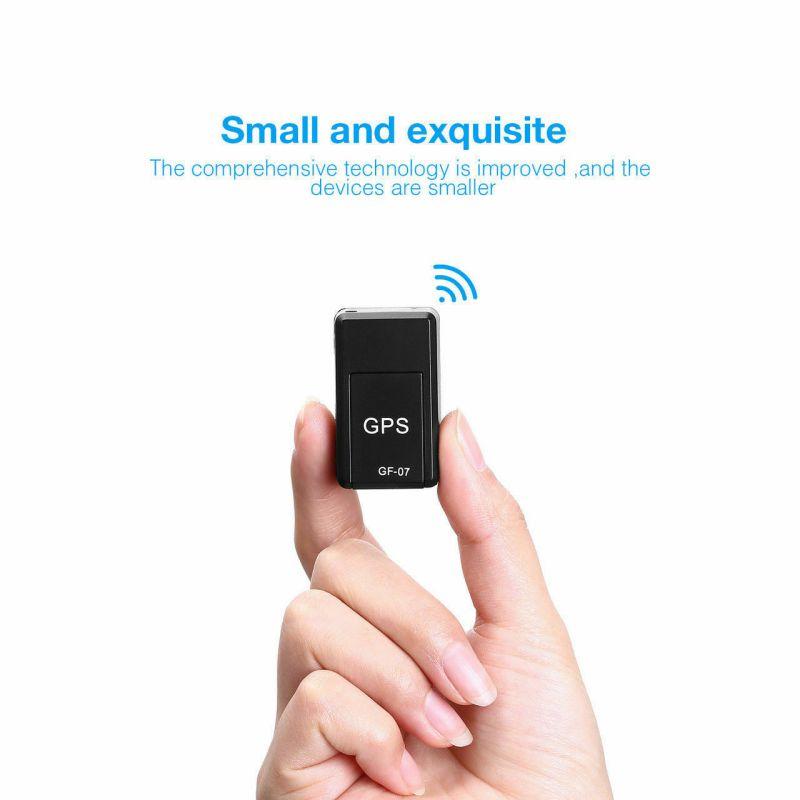 GF07 Mini Magnetic GPS Tracker Locator Elderly Children Anti-lost Device GPS Strong Magnet Positioner SOS Alarm For Old Men