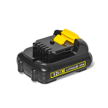 Lithium ion Battery Power Tools 12v 2000mAh Rechargeable Battery Pack for dcb120 De walt Cordless Tools цена 2017