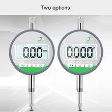 """IP54 маслостойкий цифровой микрометр 0,001 мм Электронный микрометр метрический/дюйм 0-12,7 мм/0,"""" точный циферблат индикатор манометр"""