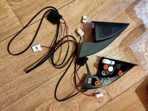 Image 2 - tweeter audio Triangle Head Drive speakers tweeter Horn audio Wire For Kia Rio 4 KX CROSS 2017 2018 K2 KIA Rio X Line