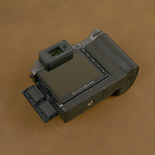 לhasselblad X1D X1D השני 50C מצלמה אמיתי עור פרה תיק גוף עור אמיתי חצי מקרה תיק