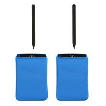 2X Protector For Writing Tablet LCD Drawing Memo Message Board 12 Inch + 2 Pens(China)