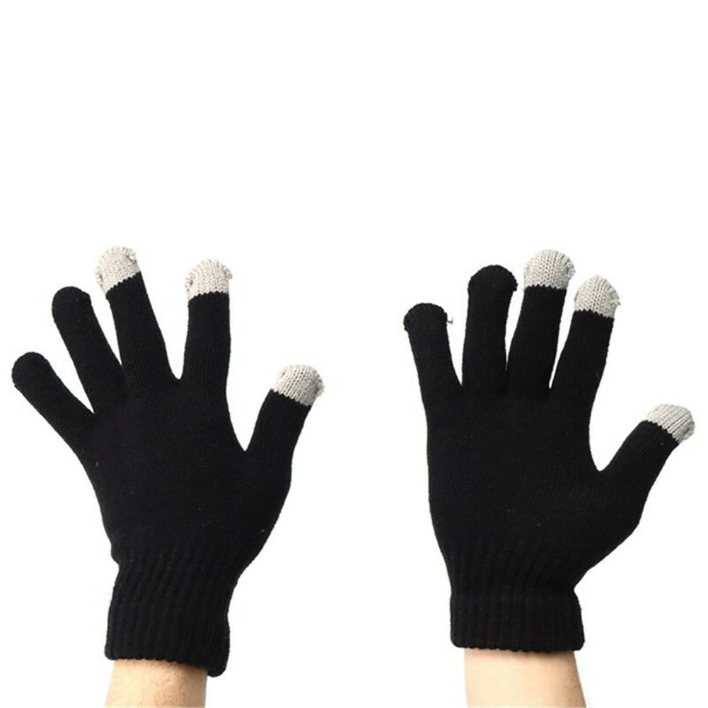Heated Gloves Soft Hand Warmer Knitted Unisex USB Powered Motorcycle Hunting Thermal Cycling Mittens Outdoor Skiing Winter