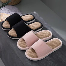 Women Men Summer Slippers Indoor Casual Couples Home Shoes Household Slippers Women Summer Casual Klapki Damskie Na Lato тапочки(China)