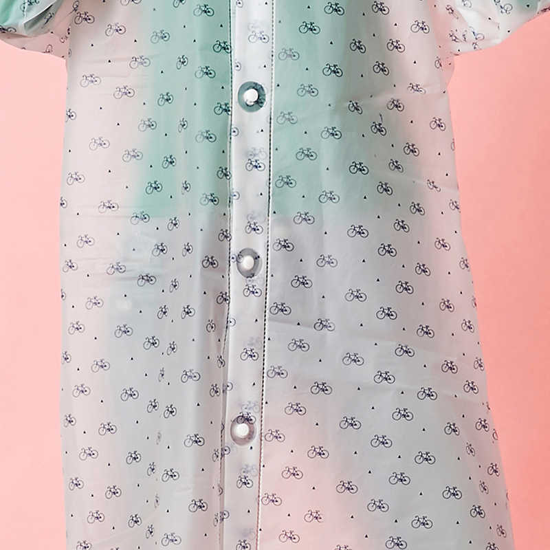Yuding Wanita Jas Hujan Kreatif Gratis-Cut Jas Hujan Pria/Wanita Di Luar Ruangan Perjalanan Transparan Rain Cover Universal Jas Hujan untuk wanita