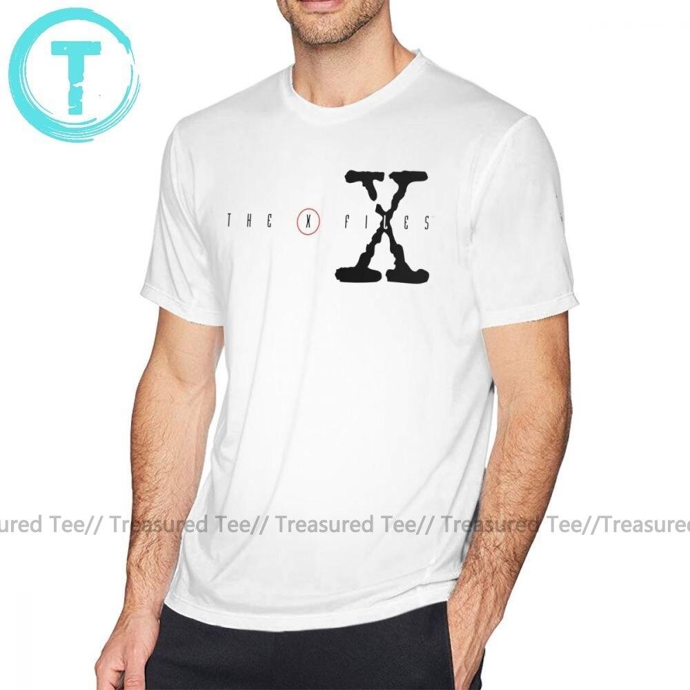 X Files T Shirt The X Files T-Shirt Print 100 Percent Cotton Tee Shirt Short Sleeve Man 5x Cute Streetwear Tshirt
