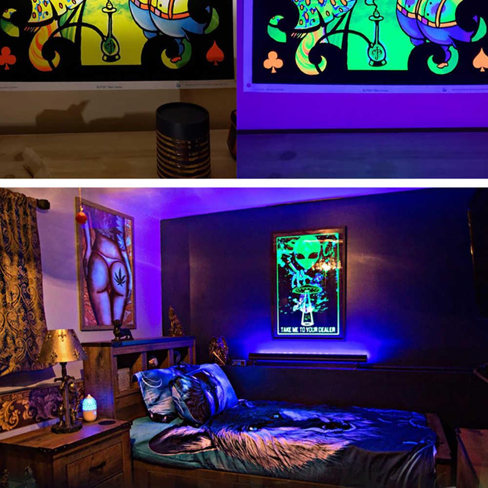 DJ דיסקו אור 10W שלב אור DJ UV סגול led צינור עבור מסיבת חג המולד בר מנורת לייזר שלב קיר מכונת כביסה ספוט אור תאורה אחורית