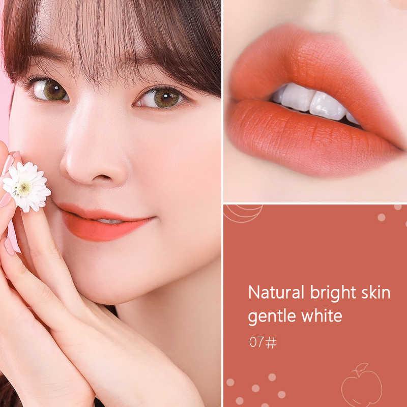 FOMIX Samt Matte Air lippenstift Lip Glasur Nebel Oberfläche Licht Feuchtigkeitsspendende Lippen Gloss wasserdicht Make-Up Schönheit Kosmetik TSLM1