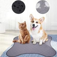 Мочи для собак впитывающие подгузники водонепроницаемые моющиеся