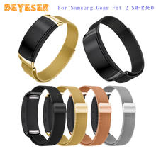 Milanese Watch Strap For Samsung Gear Fit 2 Watch Wristband Adjustable Replacement For Samsung Gear Fit 2 Watch Band Bracelet цена