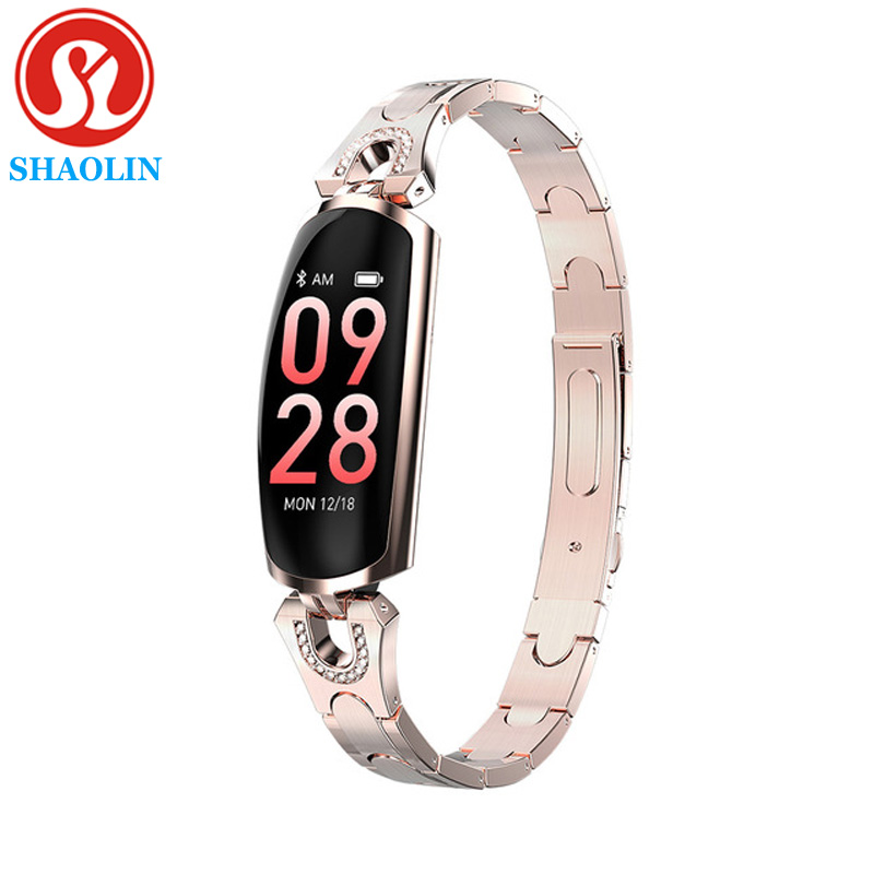 AK16  New Smart Watch Women IP67 Waterproof Heart Rate Monitor For Android IOS Phone Fitness Bracelet Smartwatch Smart Watches     - title=