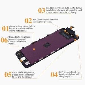 Image 4 - Aaaa tela lcd para iphone 6 6s 7 8 mais display lcd para iphone 5 5S se assembléia digitador da tela com substituição de toque 3d lcd