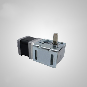 32-35 Worm Geared Stepper Motor 35mm Include Mounting Frame and Handwheel