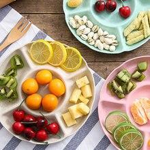 Блюдо для фруктов Творческий круглая тарелка под фрукты умного