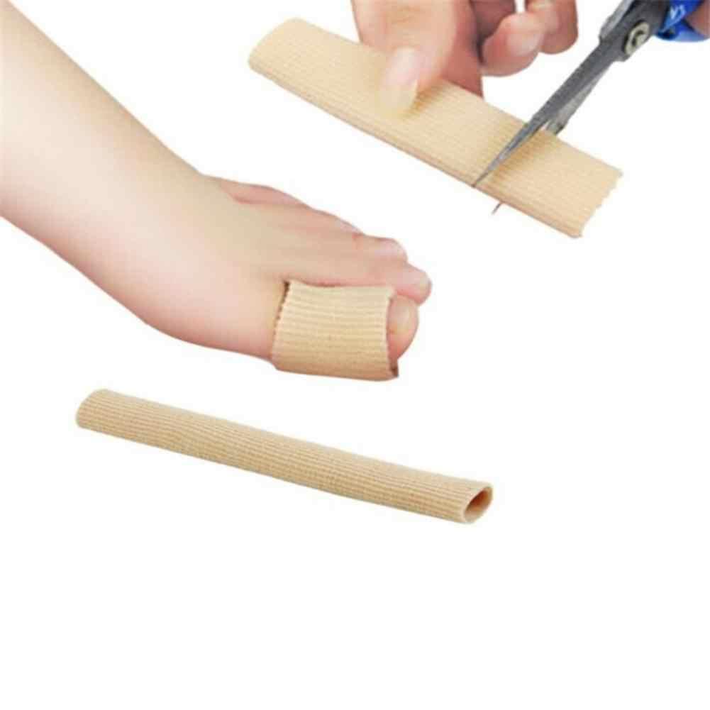 لينة سيليكون جل أنبوب تو الأكمام فواصل الفواصل محاذاة الورم لتخفيف الآلام أدوات إصبع واقي إصبع القدم باديكير العناية بالقدم