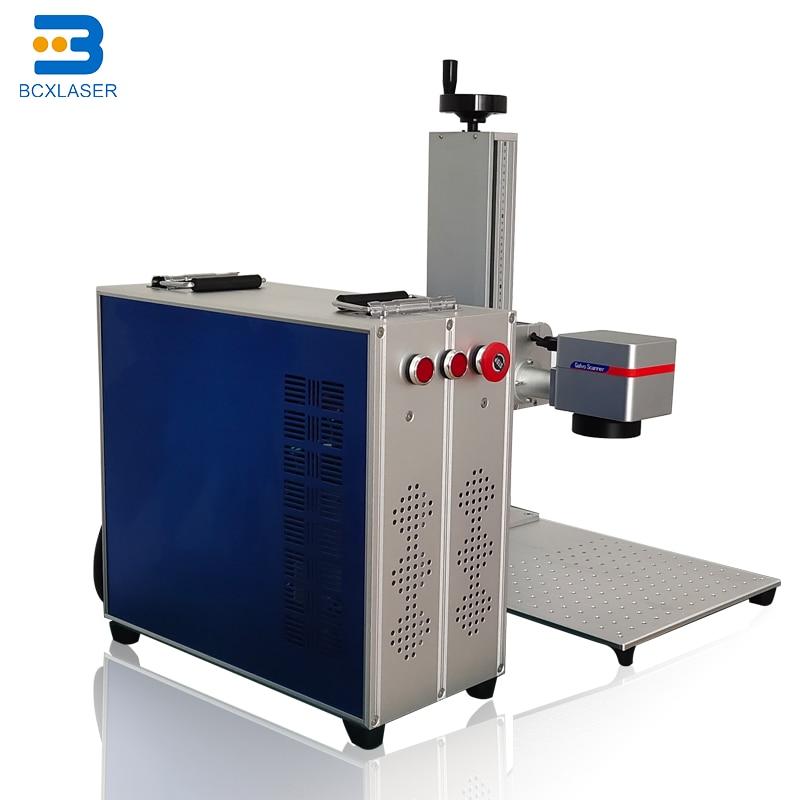 Mini Desktop Hand Held Fiber Laser Marking Machine For Metal