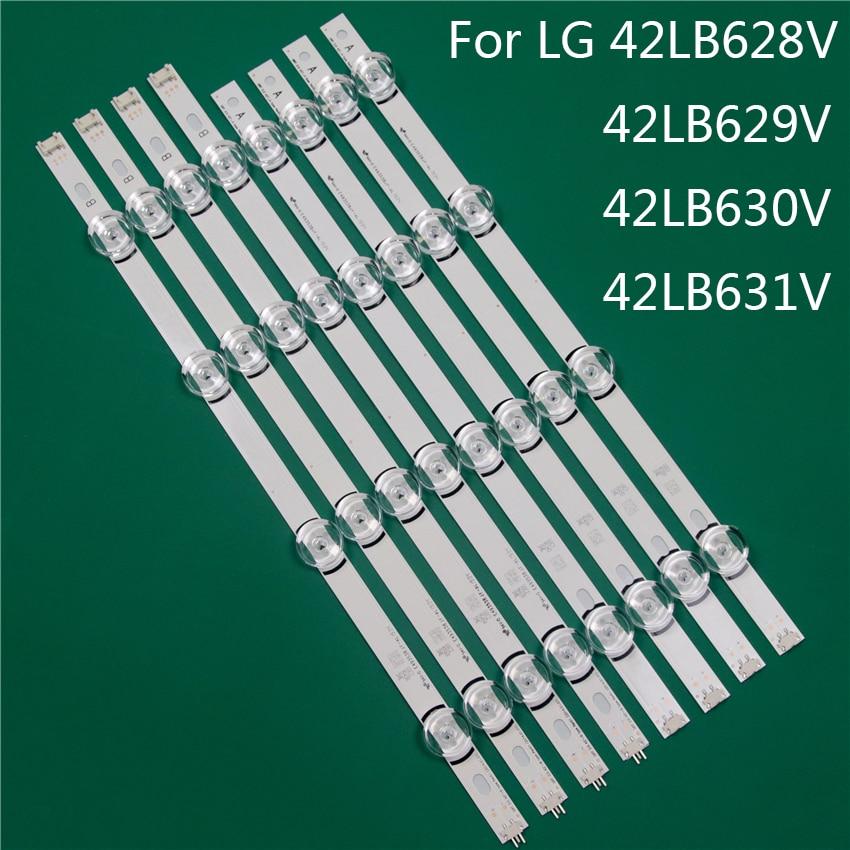 LED TV Illumination Part Replacement For LG 42LB628V 42LB629V 42LB630V 42LB631V LED Bar Backlight Strip Line Ruler DRT3.0 42 A B