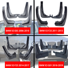 For BMW X3 E83 F25 G01 Mudguards Mud flaps bmw car Fenders splash guards auto accessories 2006-2019