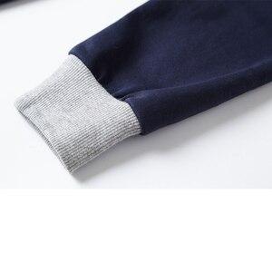 Image 5 - Uomini Autunno Camicia Camicia di Polo Mens Del Collare Del Basamento Polo Camicette Ricamo Casual Cotone Homme 5XL di Grandi Dimensioni Business Completa Magliette E Camicette camicia