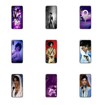 Black Soft Tpu Phone Case Cover For Redmi Note 4 5 5A 6 7 8 8T 9 9S Pro Max Pas Cher Prince Rogers Nelson image