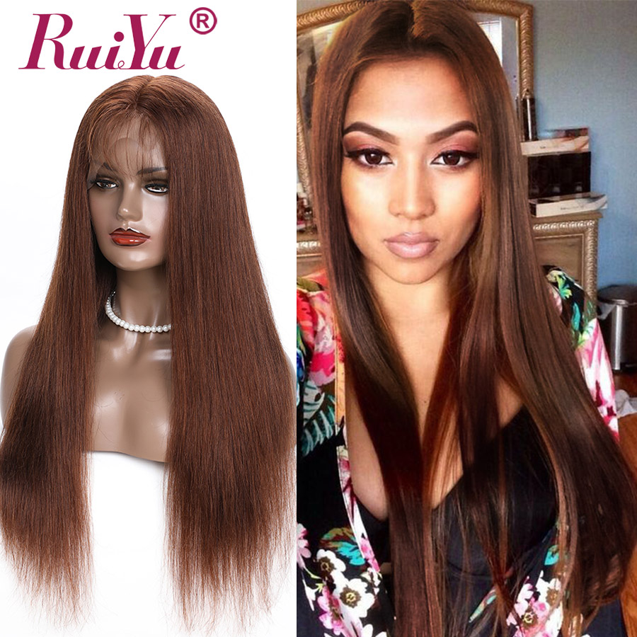 150 Density Lace Front Wigs With Color 13x4 Brazilian Lace Front Human Hair Wigs For Black Women Highlighted RUIYU Remy Hair