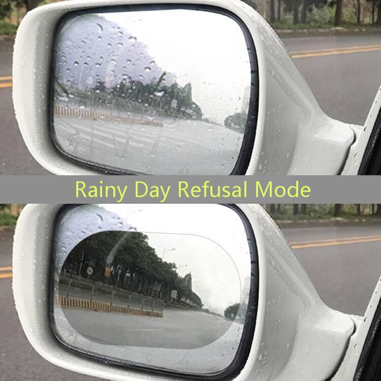 Image 3 - 2Pcs Car Rearview Mirror Waterproof Anti Fog Rain Proof Film Side Window Glass Film Anti rain Car Rearview Mirror Cover Films-in Awnings & Shelters from Automobiles & Motorcycles