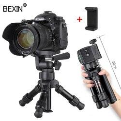 صغيرة خفيفة الوزن منضدية كاميرا ترايبود حامل الهاتف حامل المحمولة سطح المكتب المدمجة جيب ترايبود صغير للهاتف dslr كاميرا