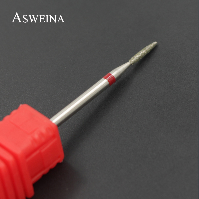 ASWEINA Diamond Grinding Burrs Nail Drill Bit Dead Skin Removal Mill Cutter Manicure Nail Drill Accessories Electric Nail File