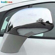 Para Chevrolet Trax rastreador 2014, 2015, 2016, 2017, 2018 ABS cromo lado cubierta de espejo retrovisor de puerta Trim accesorios de estilo de coche 2 uds