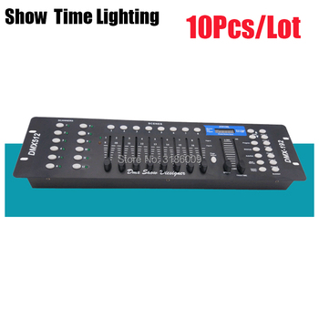 Good Package 192 DMX Console Stage lighting Controller 192 channels DMX-512 Moving head led par controller DMX Show Dieliquer 5xlot light jockey dmx usb martin controller 1024channels software lighting console martin jockey usb1024 dmx controller
