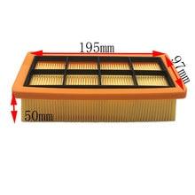 Ersatz HEPA-Filter für Karcher 6,415-953,0 AD 3,000 AD 3,200 staub reinigung zubehör staubsauger teile
