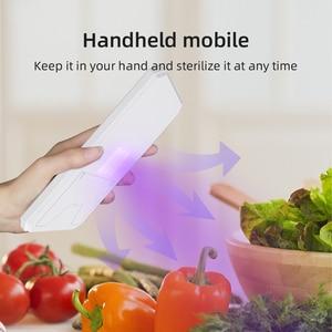 Image 3 - Smart LED UV Sterilisator Box Für Marks Nägel Accessoires Comestics Werkzeuge Wiederaufladbare Smart Telefon Desinfektion Box Reinigung