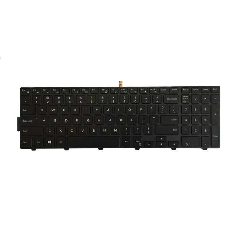 Nos teclado del ordenador portátil para DELL Inspiron 3551 15 3552, 3541, 3543, 3542, 3559, 3565, 3567, 3551, 3558, 3546, 3565, 3558 3549, 3559 con retroiluminación