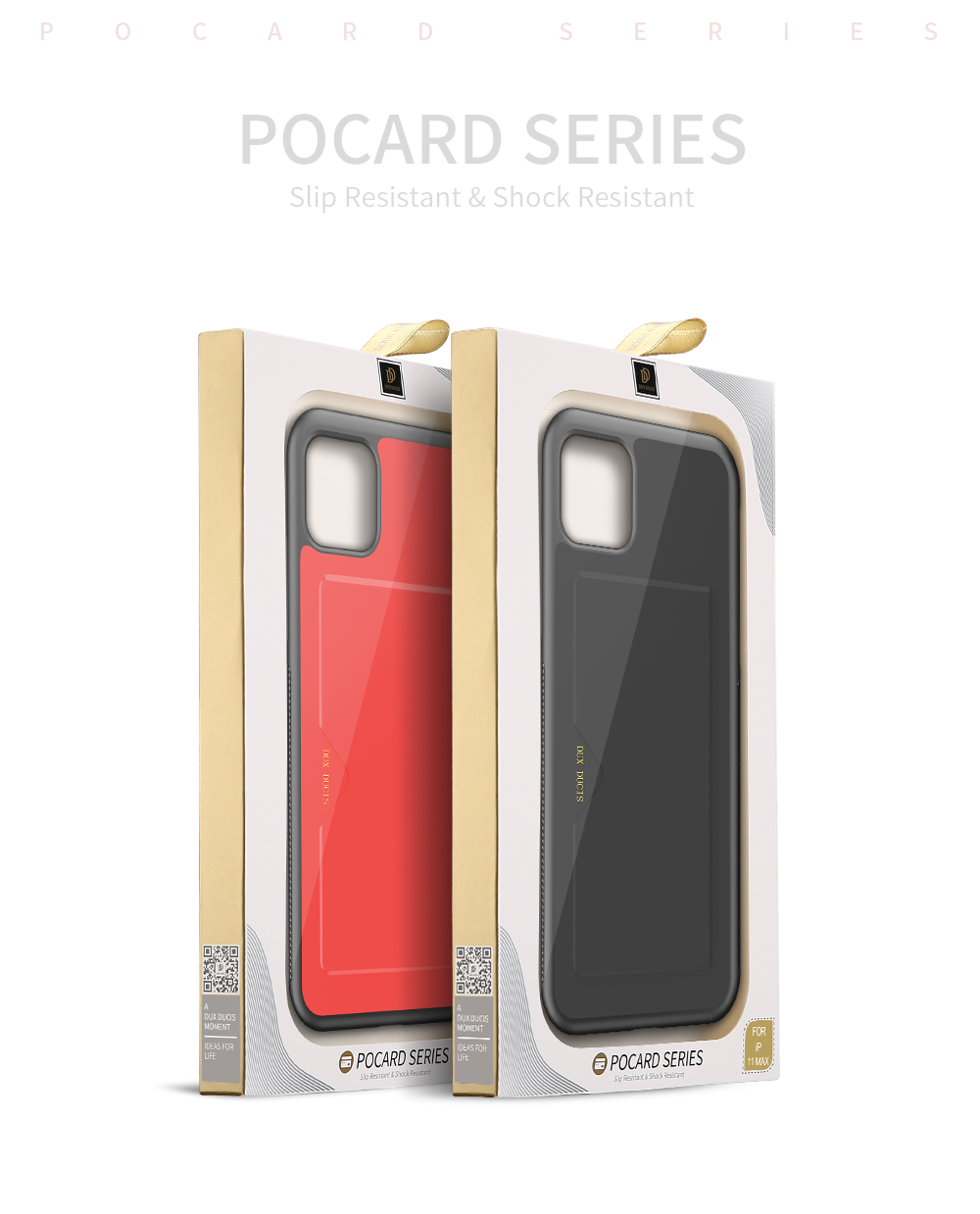 Chirm Card Pocket Case for iPhone 11/11 Pro/11 Pro Max 32