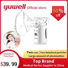 Yuwell HL100A Nebulizer Mini Portable Steam Atomized Inhaler Mesh Nebulizer Household Asthma Nebulizer Health Care Monitor