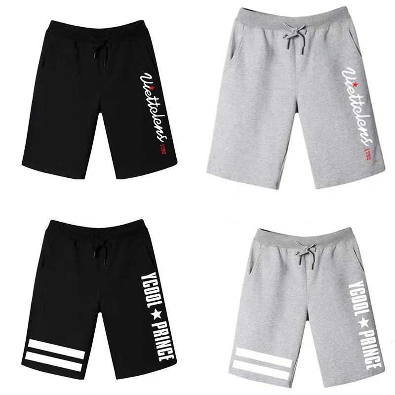 Summer Shorts Men Fashion Printing Streetwear Hip Hop Knee Length Male Sweatpants Casual Workout Clothing Shorts Hommn Plus Size