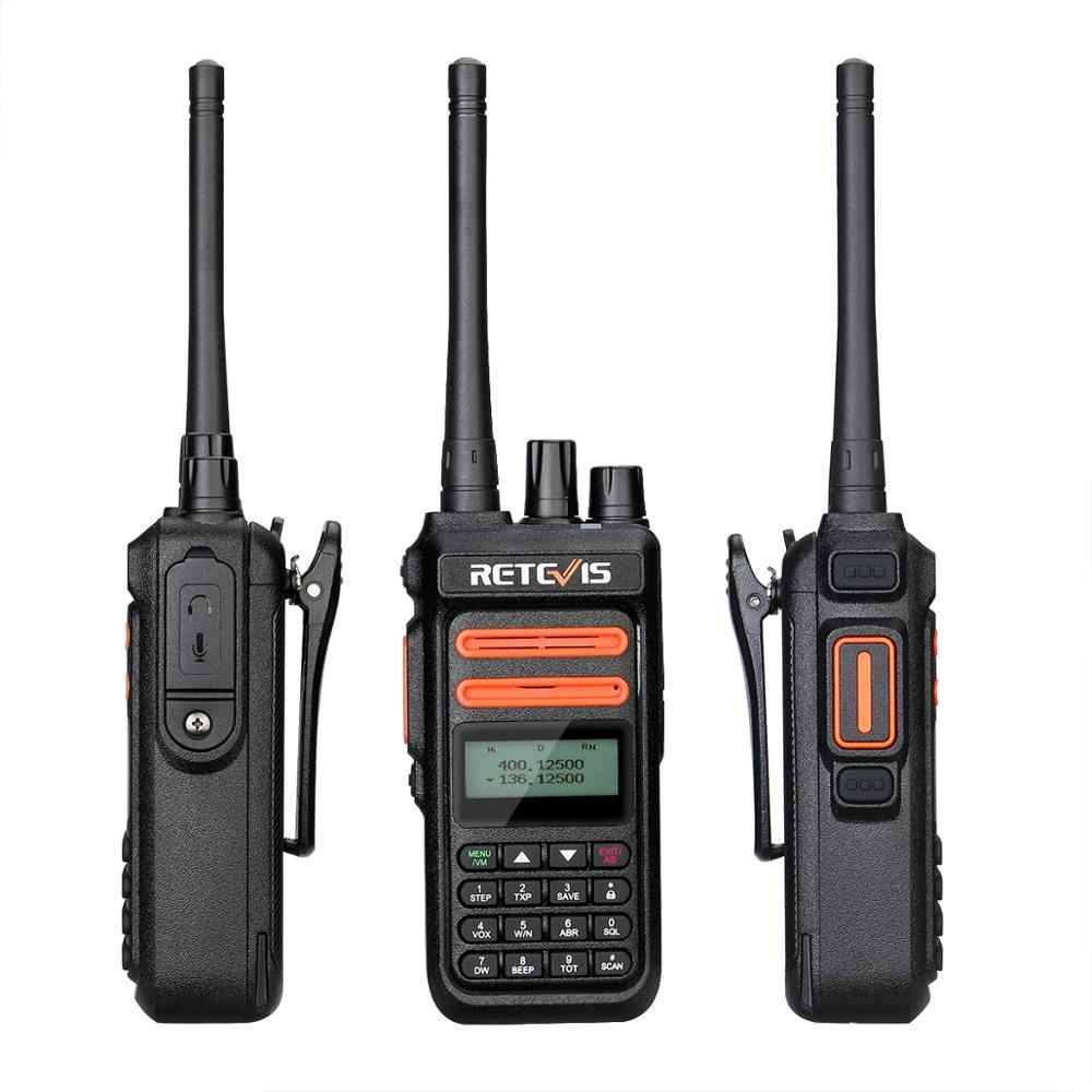 Talkie-walkie sous licence de Radio RT76P GMRS 5W 30 canaux équipement de Communication UHF VHF radio bidirectionnelle talkie-walkie