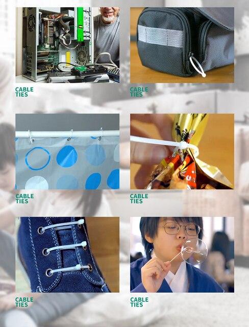 Kabel Ties Plastik 100 Buah 5