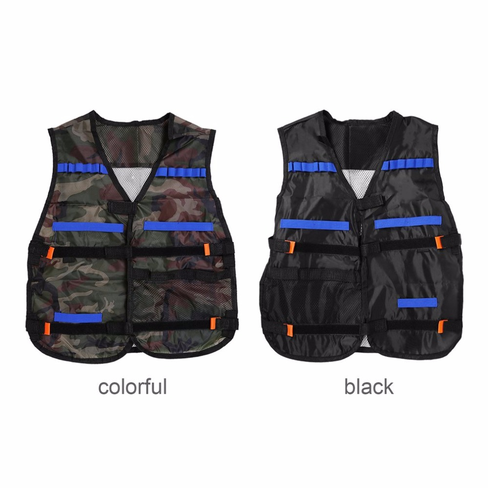 54*47cm New Outdoor Tactical Adjustable Vest Kit N-Strike Elite Games Hunting Vest Promotion Drop Shipping Safty Protection