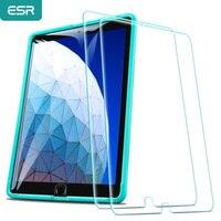 ESR-Protector de pantalla para iPad 7 2019/Air 3/iPad Pro 10,5, vidrio templado 9H, película de vidrio antiarañazos para iPad 7. ª generación, 2 uds.