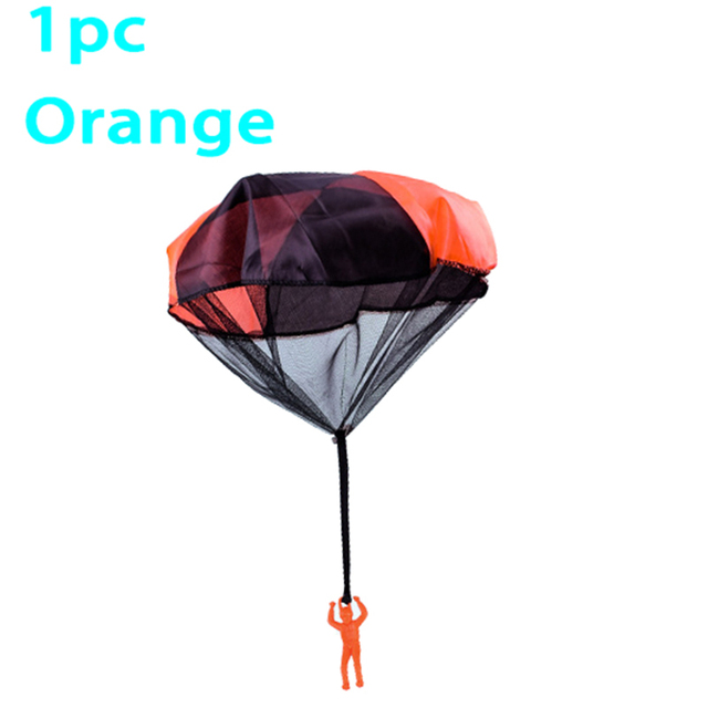 Hand Throw Soldier Parachute Toys Indoor Outdoor Games for Kids