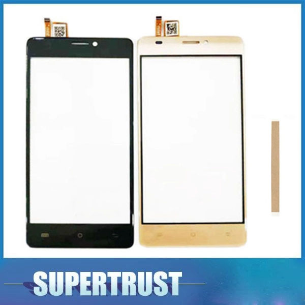 For BQ BQS-5005L BQS5005L BQS 5005L BQ5005L BQ 5005L BQ-5005 Touch Screen Sensor Glass Digitizer Black Color With Tape