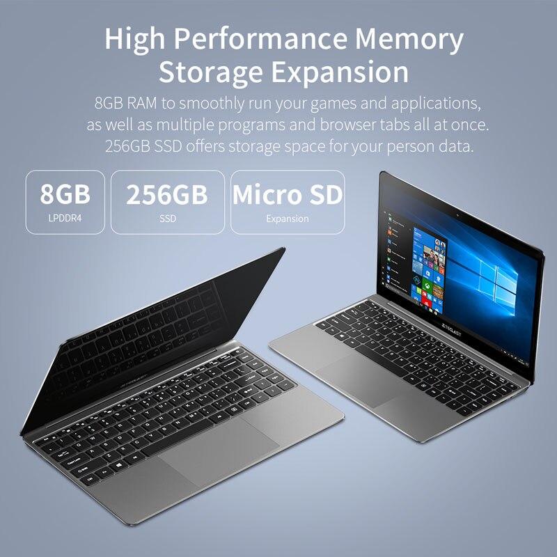 Teclast F7 Plus Laptop Notebook Windows 10 OS Ultra Thin 14 inch 1920 x 1080 Intel Gemini Lake N4100 Quad Core 8GB RAM 256GB SSD 1