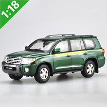 1:18 Toyota 2012 LAND CRUISER LC200 Alloy Model Car Static Metal Model Vehicles Original Box For Gifts Collection