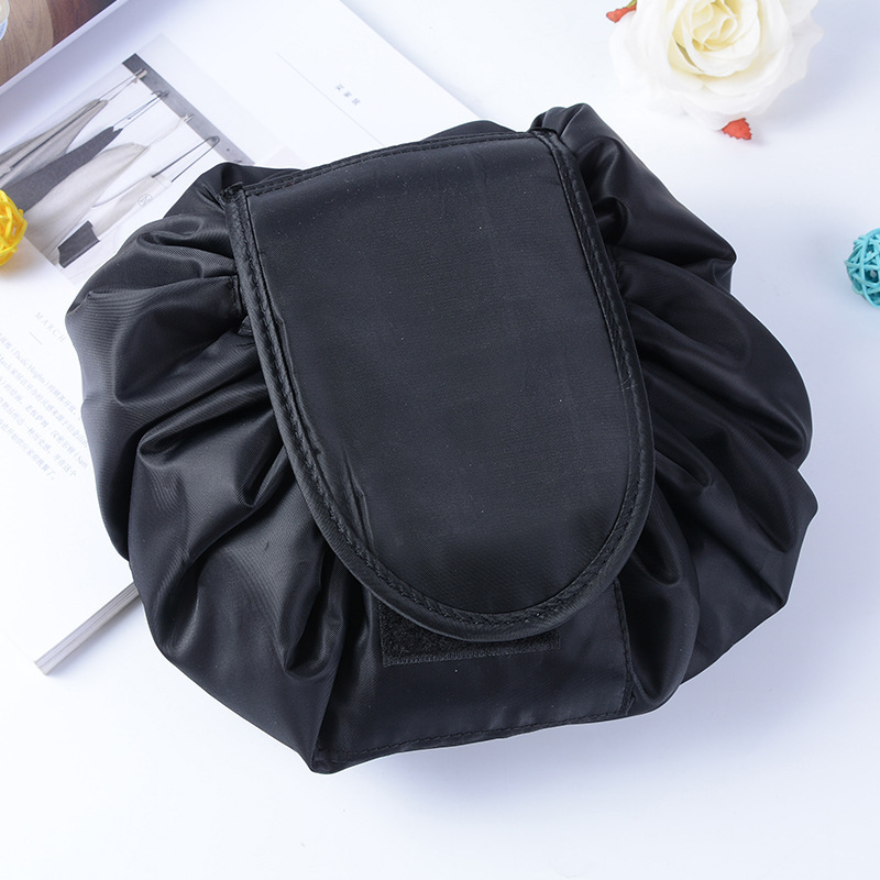 Women Magic Pouch Drawstring Travel Professional Makeup Bag Waterproof Make Storage Pouch Toiletry Beauty Folding Container